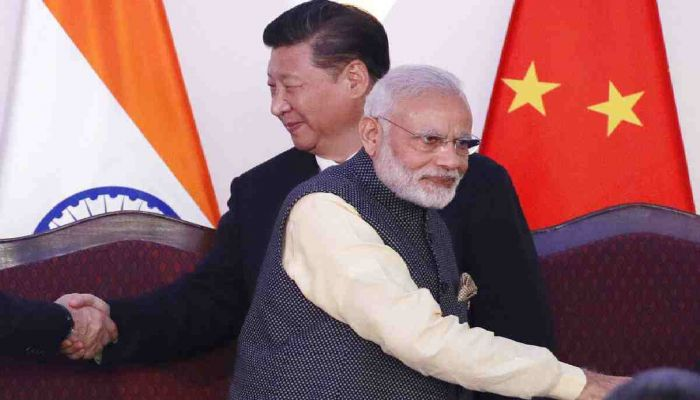Modi Visits Military Base in Ladakh Close to China Border