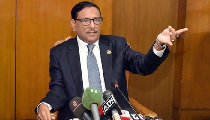 No Spare If Extortion in Name of Bangabandhu: Quader