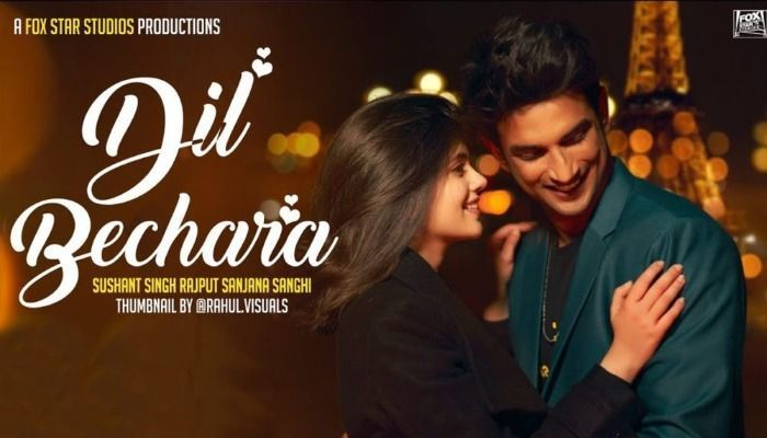 Sushant Singh Rajput's 'Dil Bechara' Releases Today
