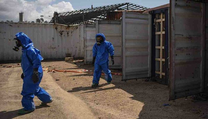 Dangerous Chemicals Remain in Beirut Port