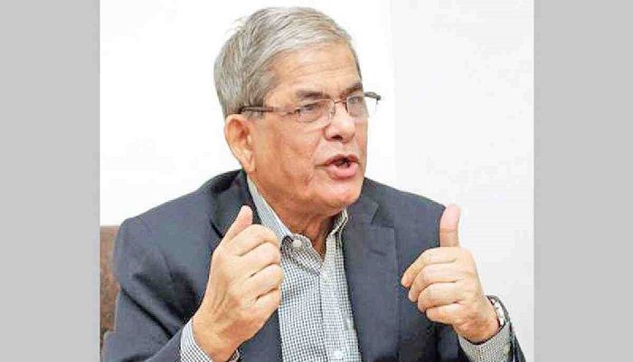 Govt's Fury Towards Opposition Growing: BNP