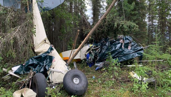 7 killed As Planes Collide in Alaska