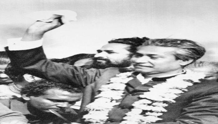 Sheikh Mujibur Rahman returned to independent Bangladesh on January 10, 1972, after being released from prison in Pakistan || Photo: BBC Bangla