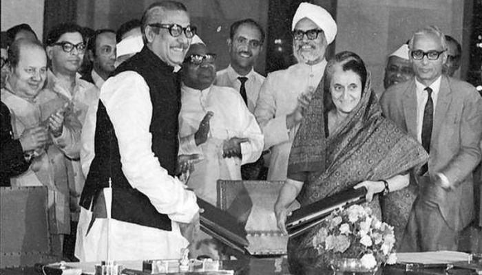Mujib Indira's signing of friendship agreement was an important agreement for the development of relations between the two neighboring countries ||  Photo: BBC Bangla