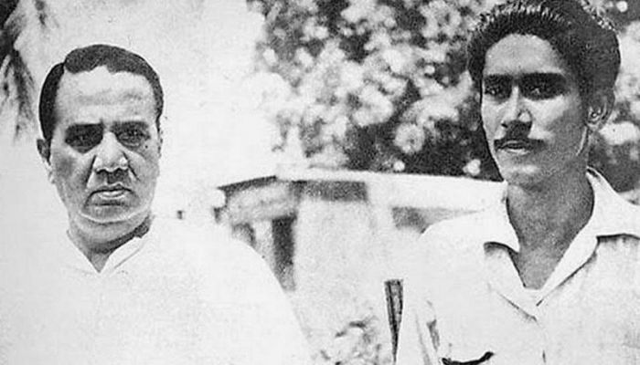 In his political life, Sheikh Mujib was deeply influenced by Hussain Shaheed Suhrawardy || Photo: BBC Bangla