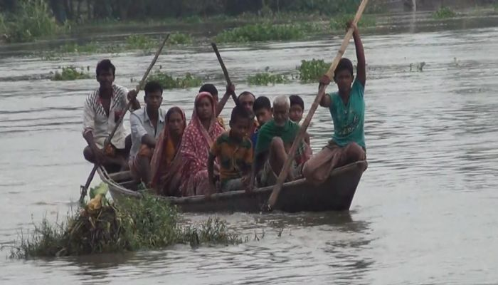 No Charm of Eid for the Flood-Hit People of North