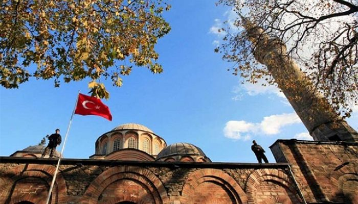 Turkey's Historic Chora Church Switched to Mosque
