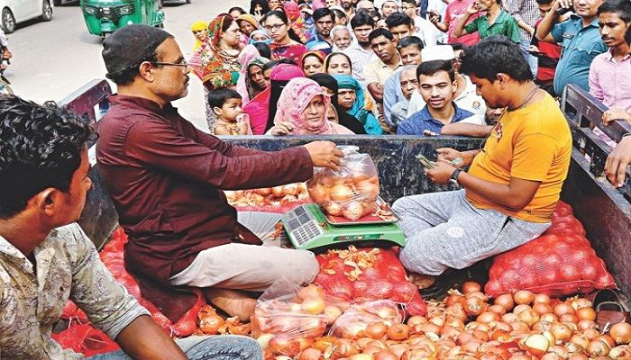 TCB Starts Open Sale of Onion at Tk 30
