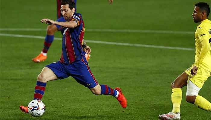 Messi Scores in 1st Game since Transfer Dispute As Barca Thump Villarreal
