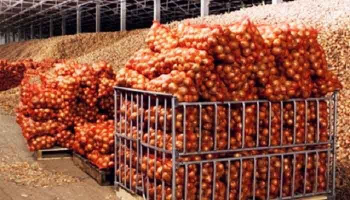Stranded Onion-Laden Trucks Entering Thru'