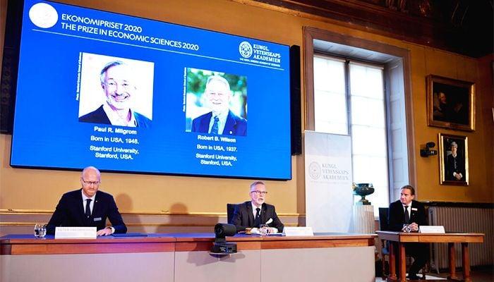 American Duo Win Nobel Prize in Economics
