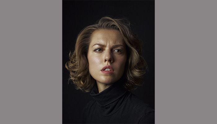 Russian actor Lyanka Gryu. Photo: Rory Lewis
