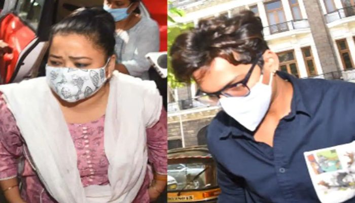 Comedian Bharti Singh and her husband accused by the NCB of taking drugs.  Photo: Collected
