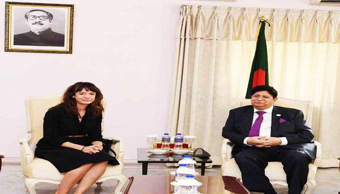 FM Meets Three New Ambassadors to Bangladesh