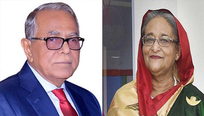 President, PM Reaffirm Bangladesh's Position on Palestine
