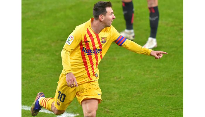 Messi Scores Two As Barcelona Go Third
