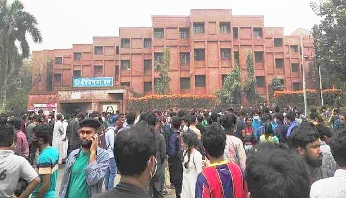 JU Students Continue Demonstration