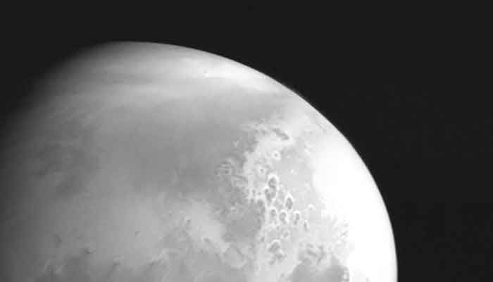 China's Space Probe Sends Back Its 1st Image of Mars