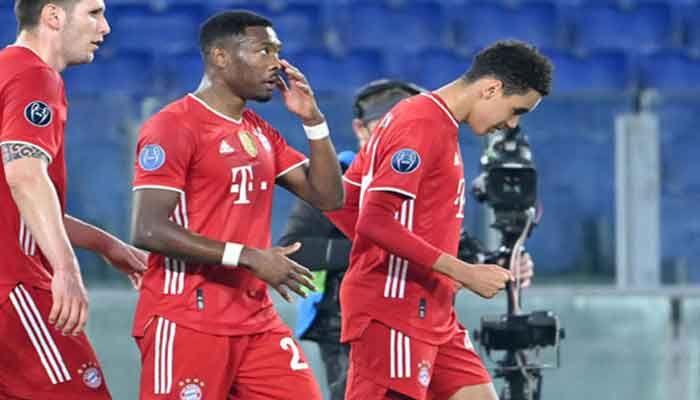 Bayern Munich Plot Quarter-Final Course by Routing Lazio