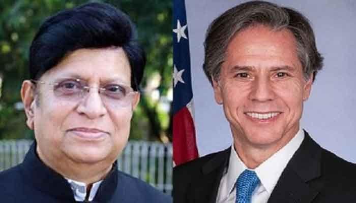 US Secretary of State Blinken Phones Foreign Minister Momen