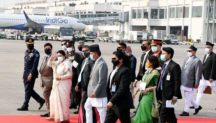 Bidya Devi Bhandari Leaves Dhaka for Home