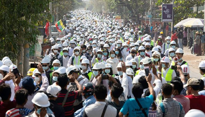 Protests Continue in Myanmar As UN Urged to Hear Pleas