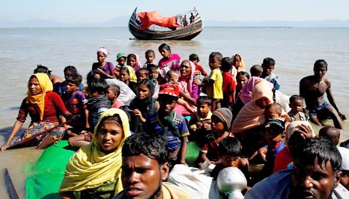 India Urged to Provide Refuge to Rohingyas Adrift at Sea