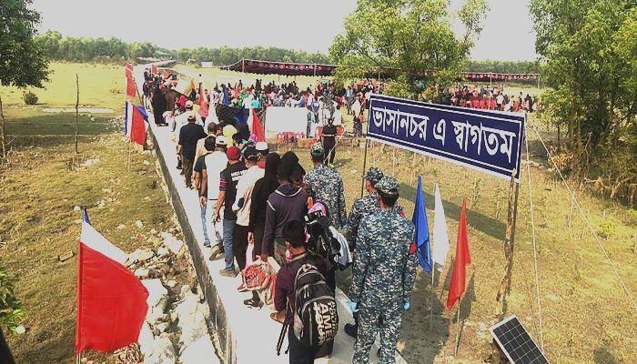 No Disagreement Over Bhasan Char: Shahriar