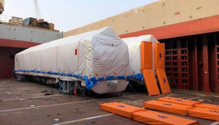 First Set of Metro-Train Reaches Mongla Port