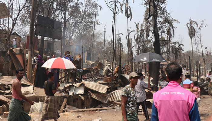 EU Scales Up Assistance for Fire Victims in Cox's Bazar