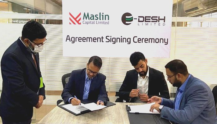 E-Desh Limited Partners with Maslin Capital Limited