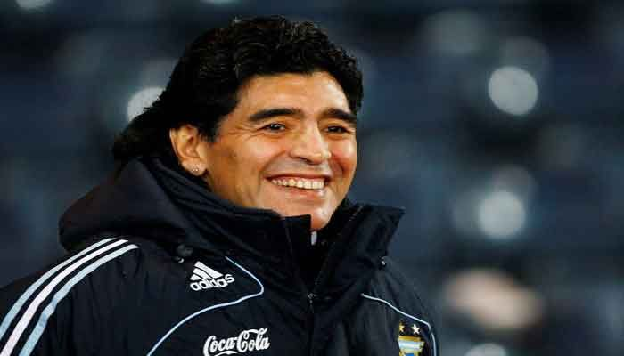 Maradona's Debut World Cup Jersey for Sale