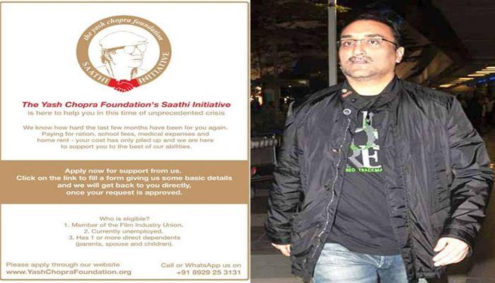Aditya Chopra Starts Initiative to Support Industry Workers