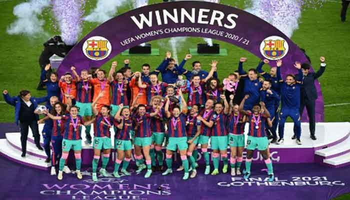 Barcelona Thrash Chelsea to Win Women's Champions League for First Time