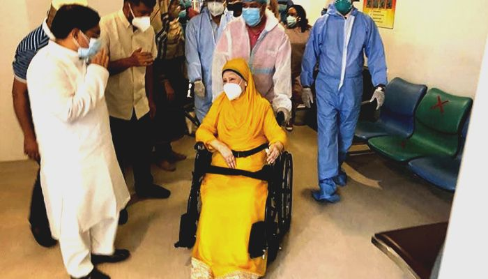 Khaleda Zia May Return Home by Thursday