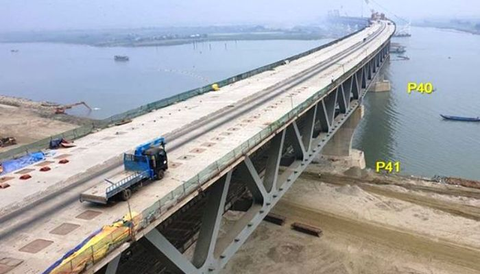 Padma Bridge Full Structure Construction Completed: Quader