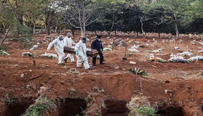 Brazil's COVID-19 Death Toll Reaches 408,622