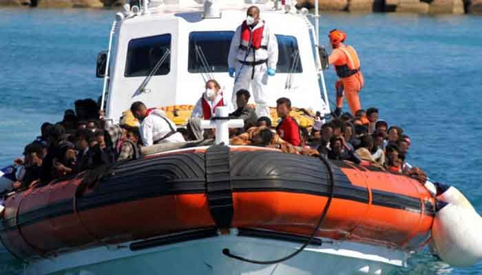 Bangladeshi Migrants amid Top Groups Arriving on Italian Island