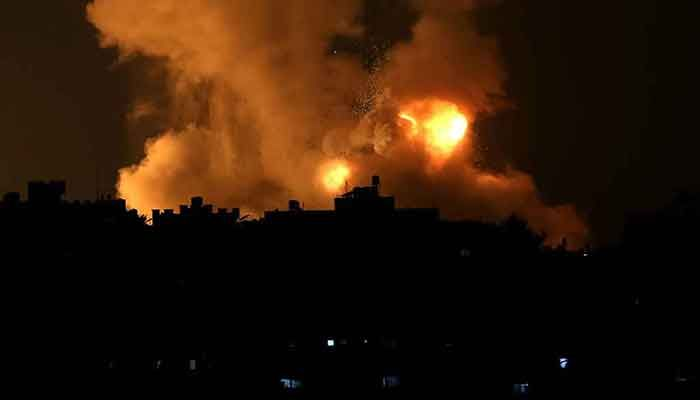 20 Killed As Israel Strikes Gaza after Hamas Rocket Barrage
