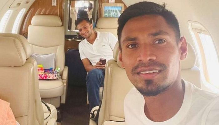 BCB Trying to Relax Quarantine Rules for Shakib, Mustafiz