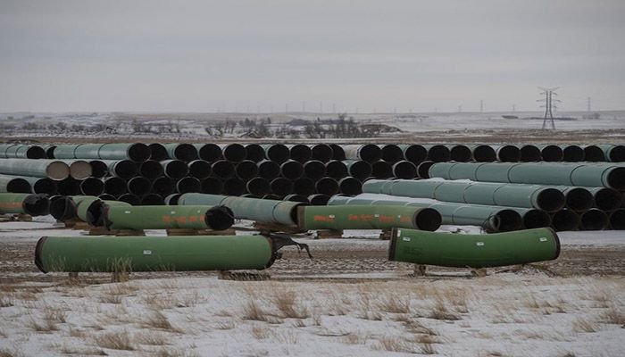 Biden formally rescinded a permit for the pipeline, first proposed in 2008, by executive order on his first day in office in January 2021. || Photo: Collected