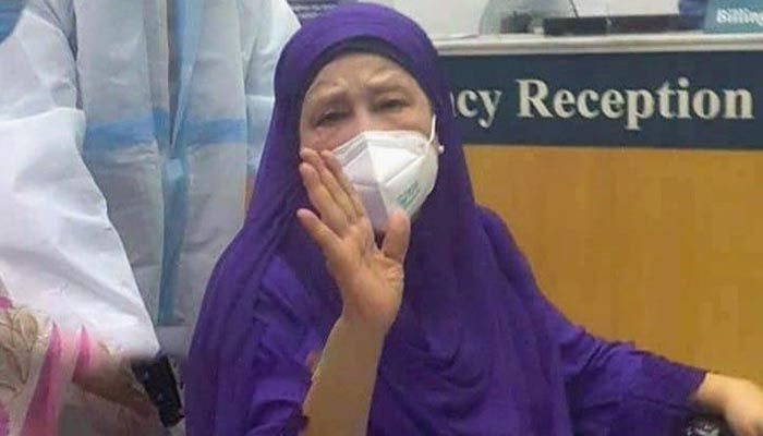 BNP Chief Khaleda Zia tested negative for Covid-19 on May 8, but she is still suffering from post-Covid complications. || Photo: Collected