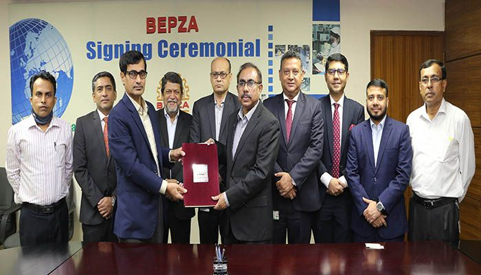 MTB has recently signed an agreement with BEPZA