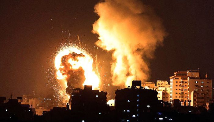 The Israeli military has conducted air strikes in the Gaza Strip || Photo: MAHMUD HAMS/GETTY IMAGES
