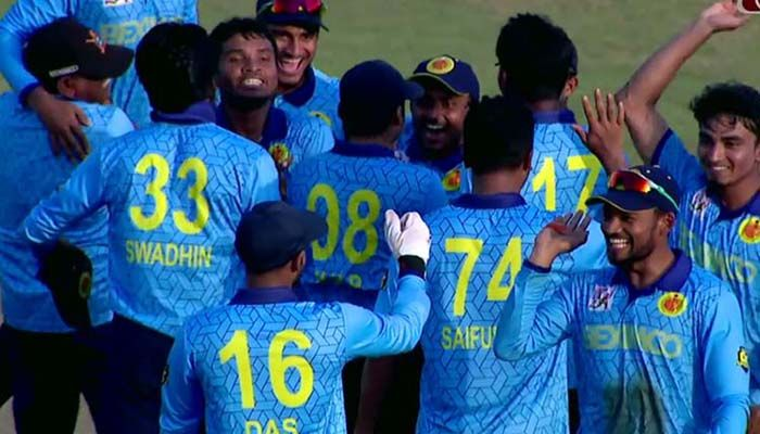 Abahani Complete A Hattrick of DPL Titles