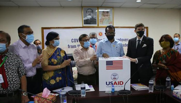 US Hands Over Emergency Medical Supplies to Bangladesh