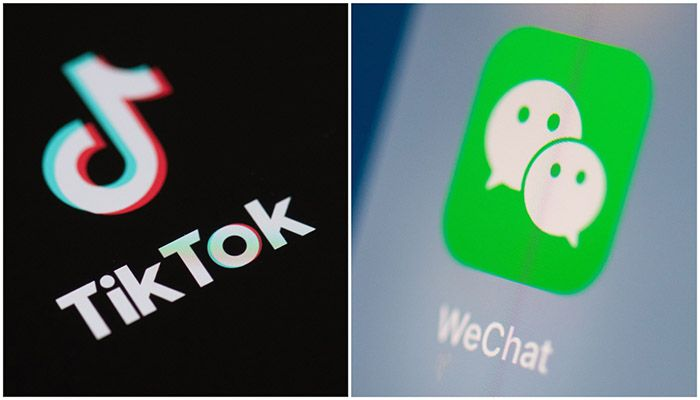 Trump had claimed the Chinese-owned apps posed national security risks and had sought to force the sale of TikTok to US investors.