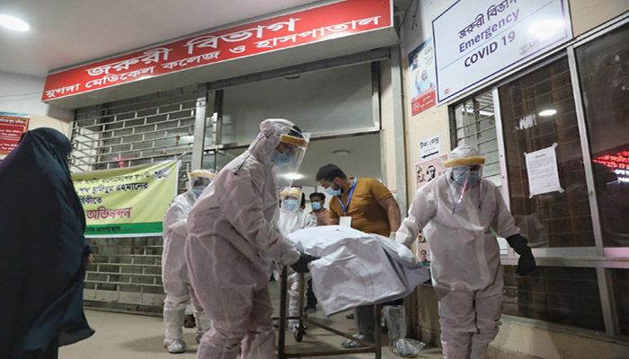 The total number of Covid-19 cases in Bangladesh raised at 8,22,850. || Photo: Collected