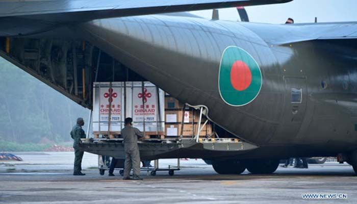 2 BAF Aircraft to Depart for China on Saturday Night to Bring Vaccine