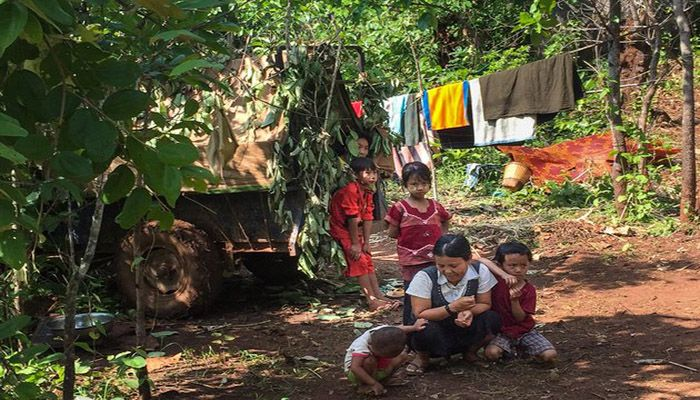 A United Nations official says Myanmar's eastern Kayah State is on the brink of a humanitarian crisis. || photo: Collected